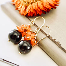 Load image into Gallery viewer, TN Garnet Carnelian Earrings
