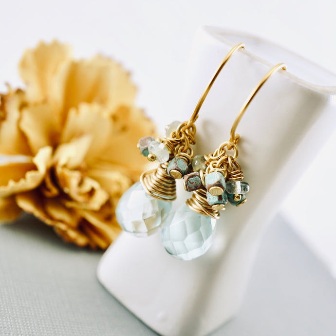 TN Aqua Serenity Earrings