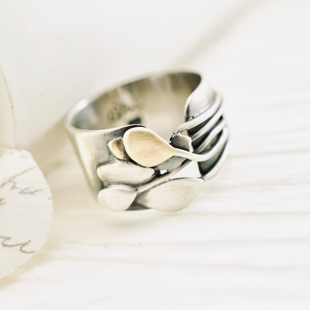 AOK - That's a Wrap Ring (size 7.5)