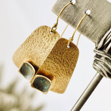 Load image into Gallery viewer, AOK - Morning Sun Earrings (Brass)
