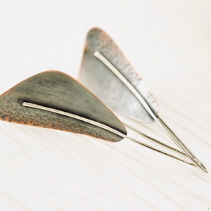 AOK - Delta Copper Earrings