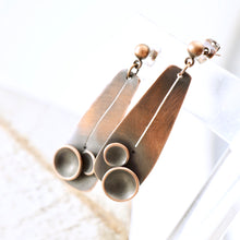 Load image into Gallery viewer, AOK - Copper Pods Earrings (posts)