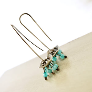 AOK - Blue Pagoda Earrings