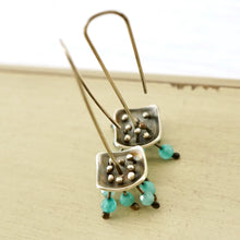 Load image into Gallery viewer, AOK - Blue Pagoda Earrings