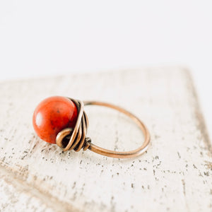 TN Coral Copper Ring