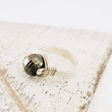 Load image into Gallery viewer, TN Pearl Silver Ring