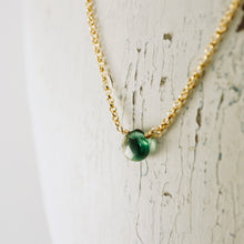 Load image into Gallery viewer, TN Petite Green Topaz Necklace