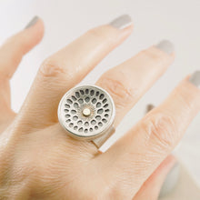 Load image into Gallery viewer, AOK - Lotus Pod Ring (Adjustable Size: 8 - 8.5)