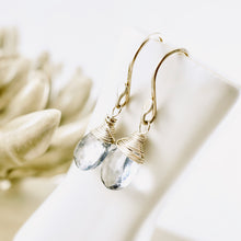 Load image into Gallery viewer, TN Blue Mystic Quartz Earrings