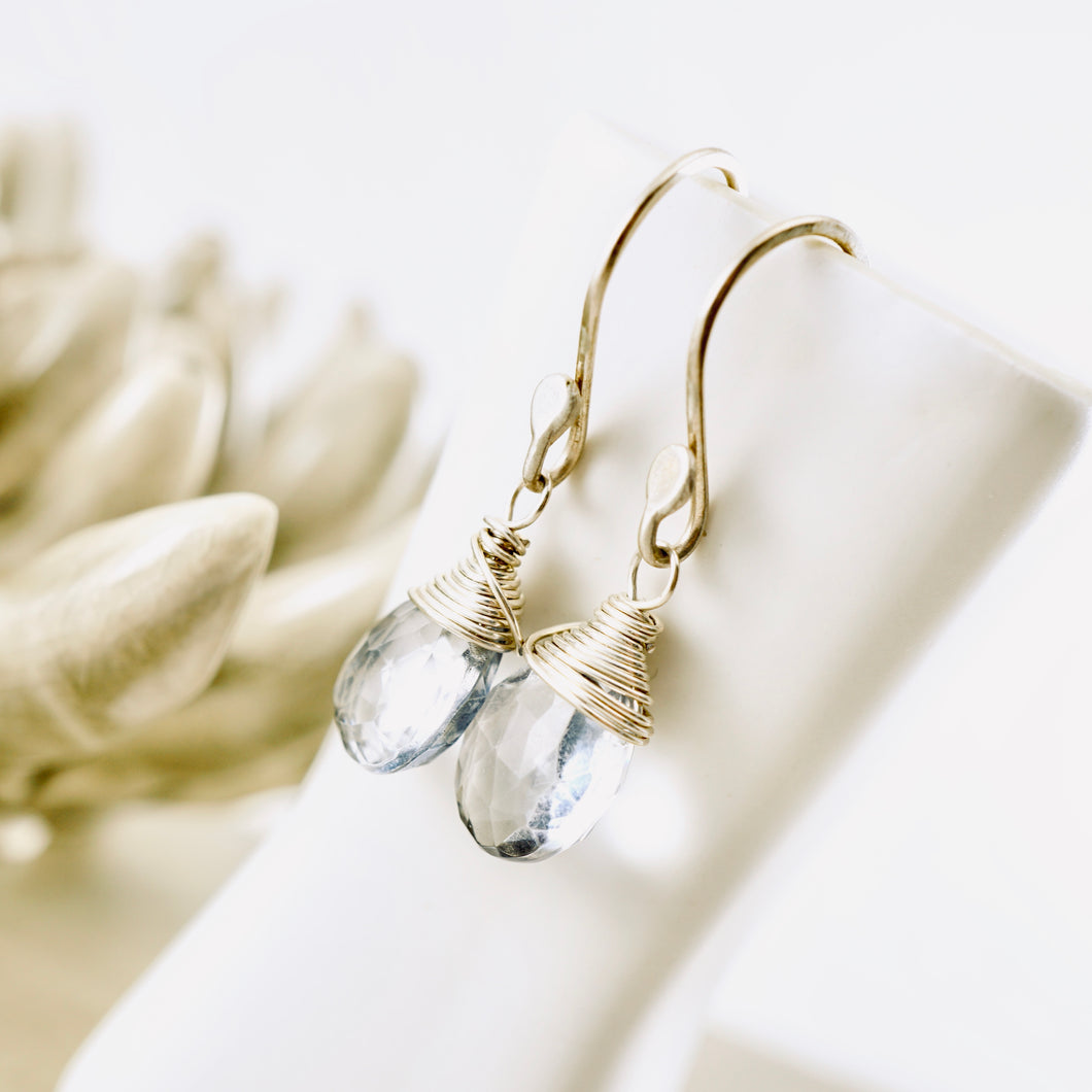TN Blue Mystic Quartz Earrings