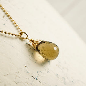 TN Honey Bear Drop Necklace