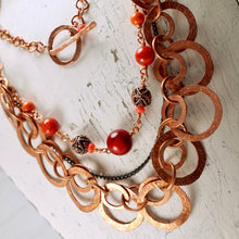 Load image into Gallery viewer, TN Red Coral Seas Necklace