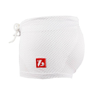 FS-01 Short de compression 3 poches, blanc