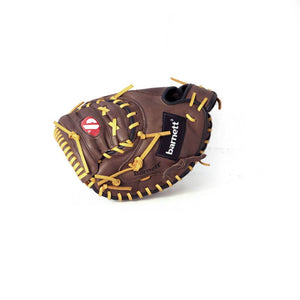 GL-202 gant de baseball cuir de catch pour adulte 34, marron