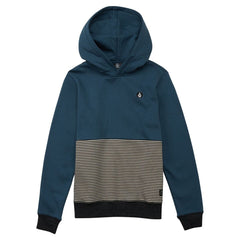 Kids Single Stone Division Hoodie Midnight Blue