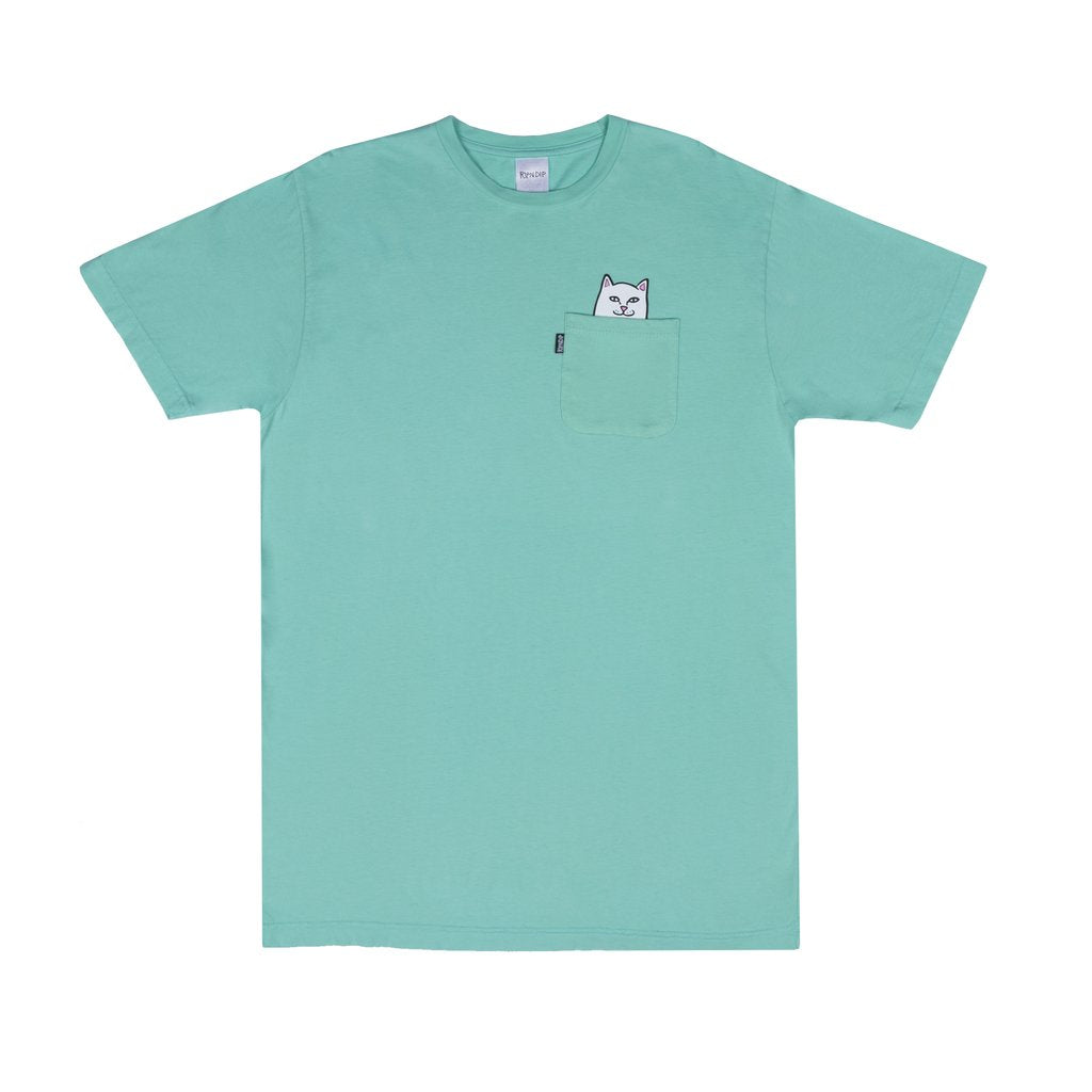 Lord Nermal Pocket Tee Over Dyed Mint