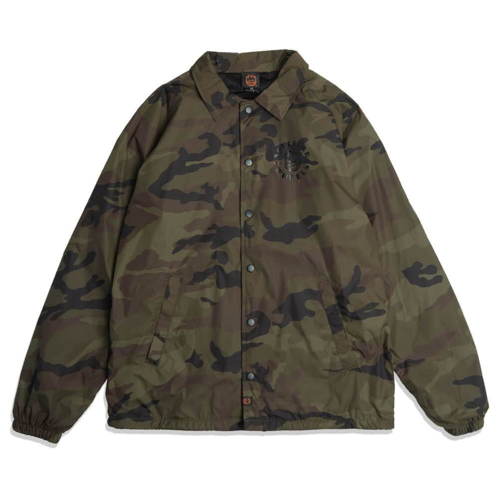 Bighead Classic Lined Coaches Jacket Camo/Black