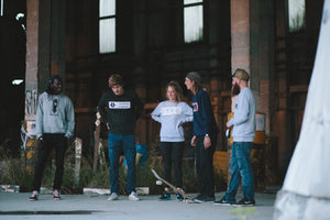 Skate rat grey sweater - Stoked Boardshop  - 4