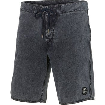 Denim Hybrid Shorts Perform Light Blue Melange