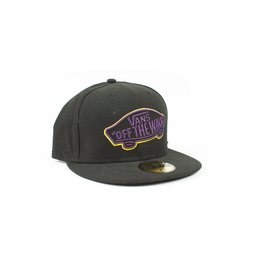 Home team black/purple New Era cap - Stoked Boardshop
