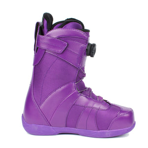 Sage boa coiler boots Purple Womens - Stoked Boardshop  - 4