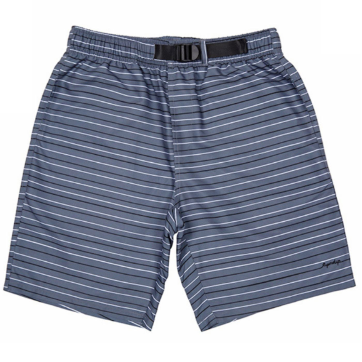 Peeking Nerm Nylon Boardshorts Grey/ Black/ White