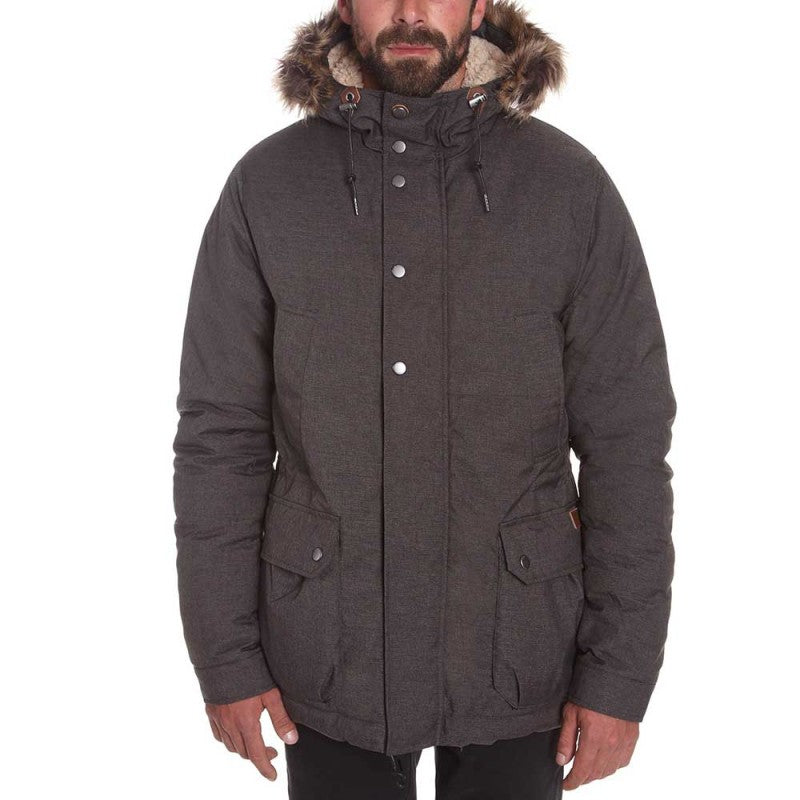 Lidward Parka Heather Black