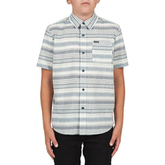 Kids Ledfield S/S Shirt Navy