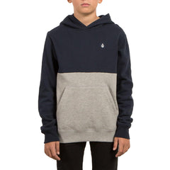 Kids Shredder Sherpa Hoodie Ink Blue