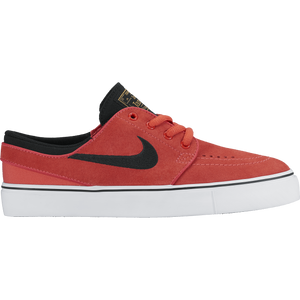 Kids Stefan Janoski (GS) Ember Glow/Black White/Metallic Gold - Stoked Boardshop  - 1