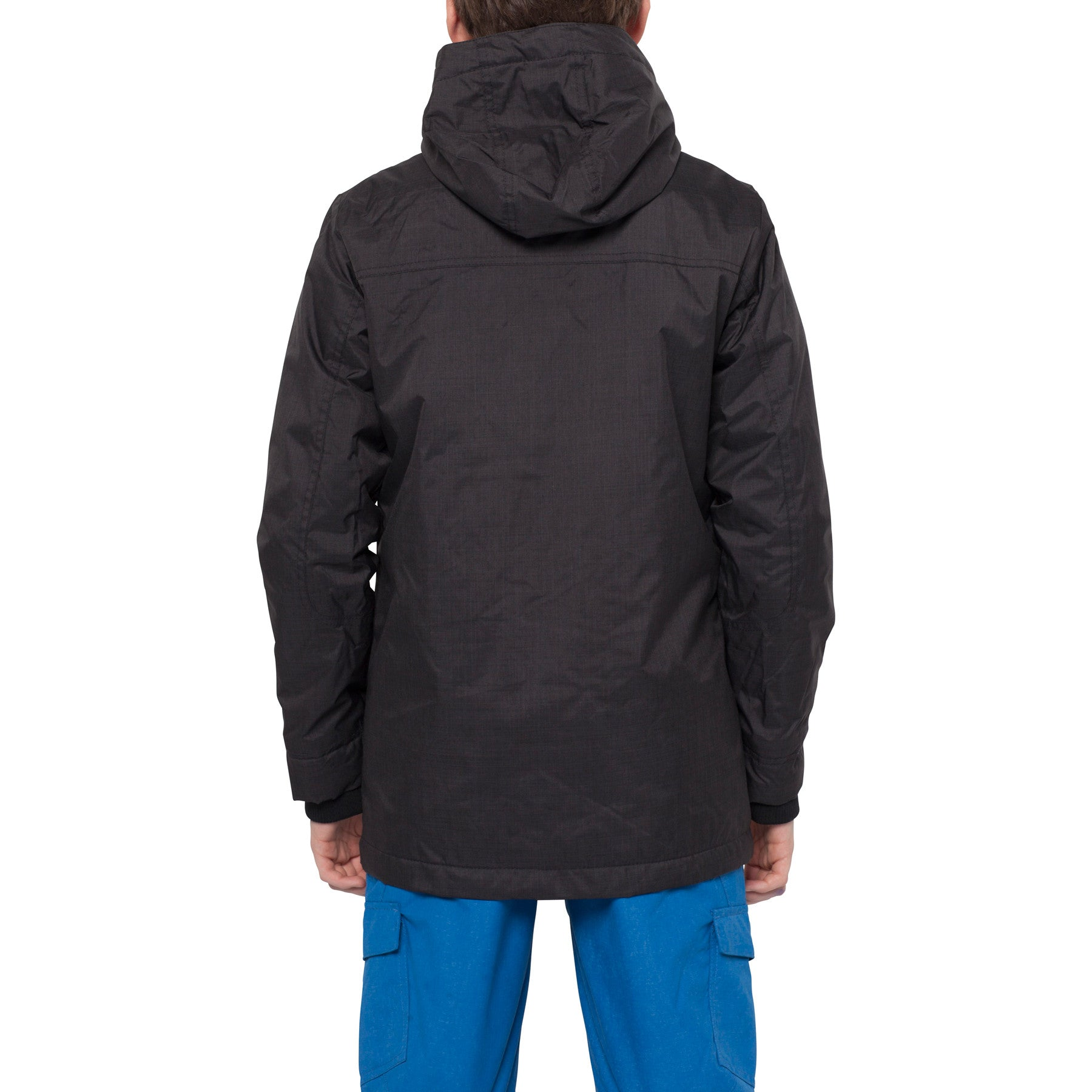 Kids Rockaway jacket Black Out - Stoked Boardshop  - 3
