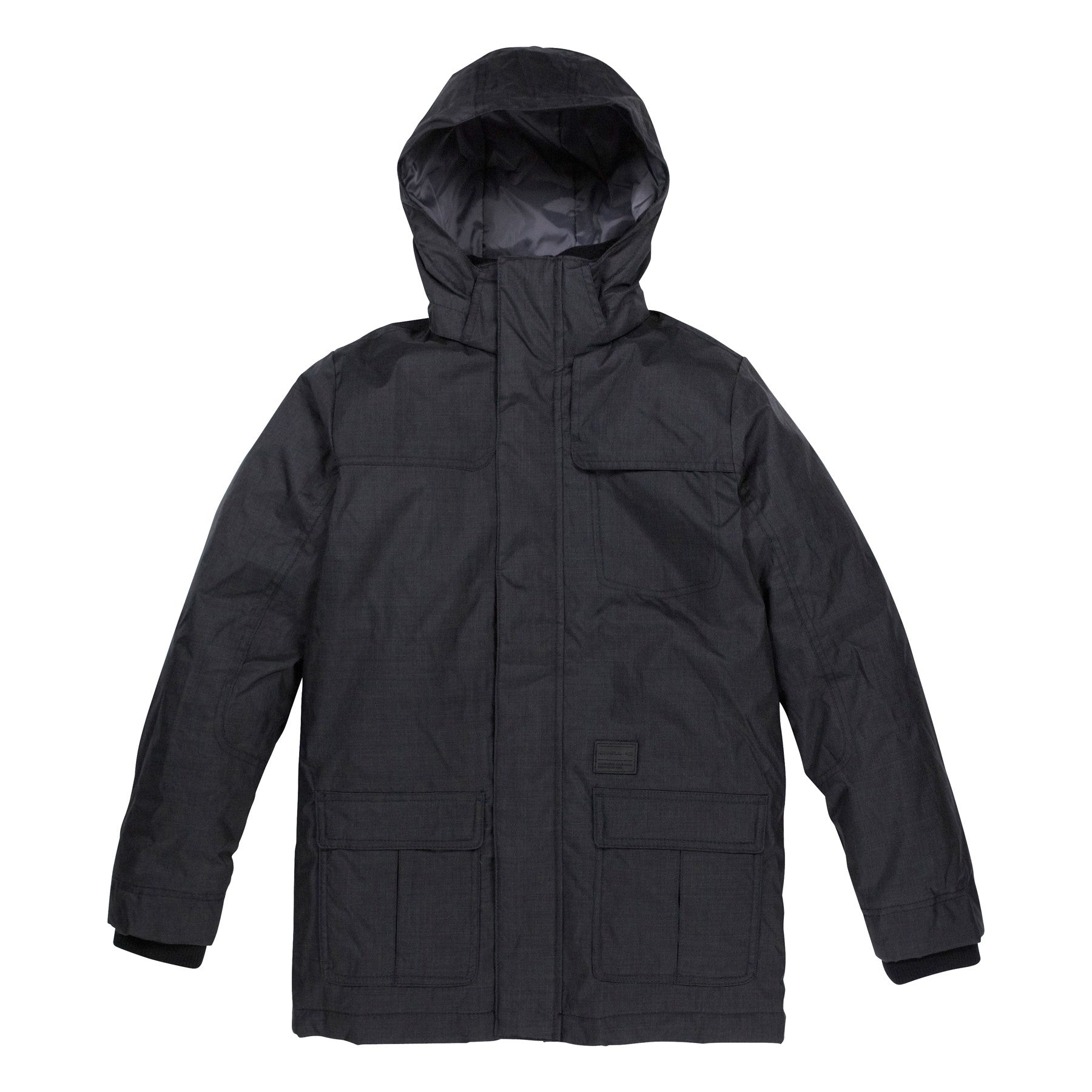 Kids Rockaway jacket Black Out - Stoked Boardshop  - 1