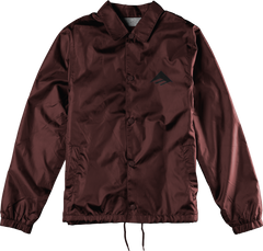 Burl Insulated Flannel Jacket - Blood Red