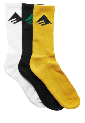 Pure Sock 3 Pack Assorted