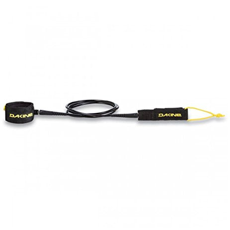"Kainui 7' X 1/4"" Surf Leash Black"