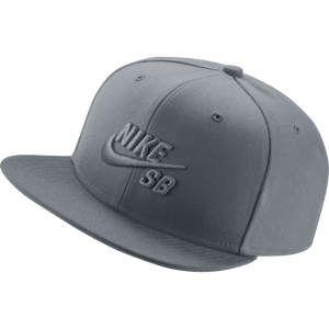 Icon Snapback Cap Cool Grey