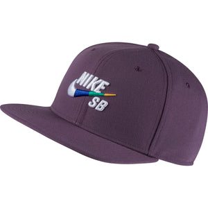 Pro Hat Pro Purple/Multi-Color