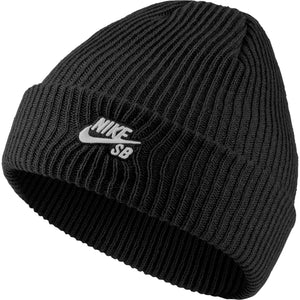 Fisherman Cap Black/White