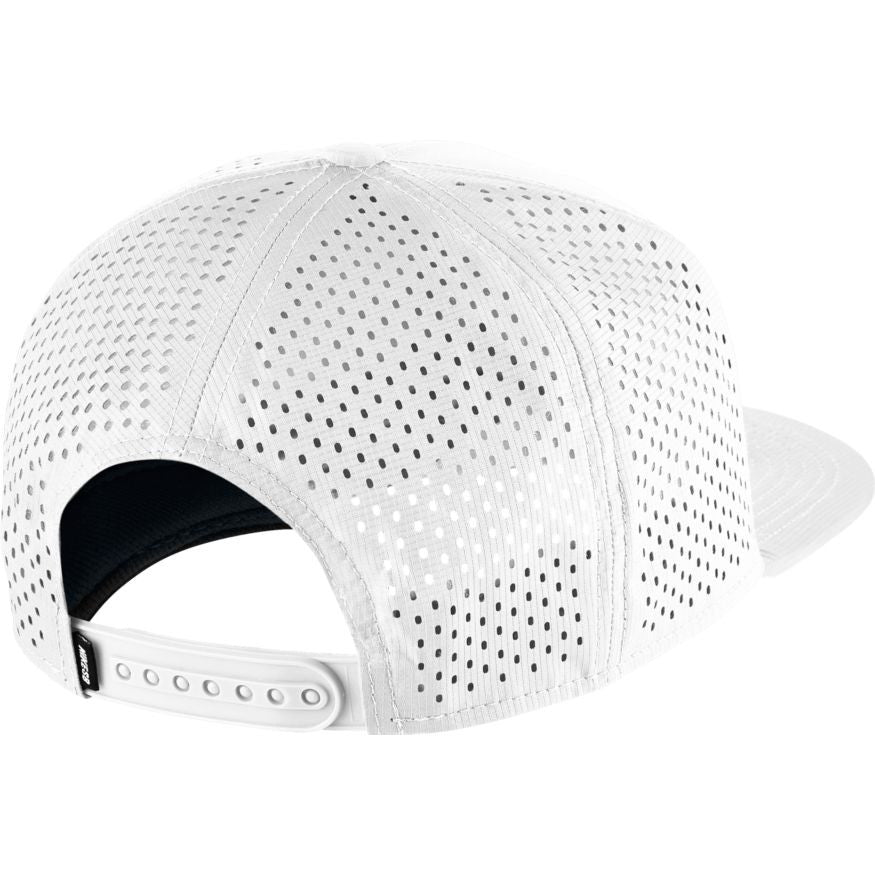 Hat White/black