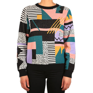 Womens Rudy Knit Crazy Color