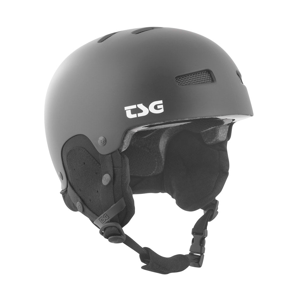 Gravity Solid Color Helmet Satin Black