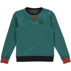 Kids Pacific Highway Sweatshirt Cedar Wood