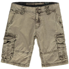 LB Conduct Fleece Shorts White AOP