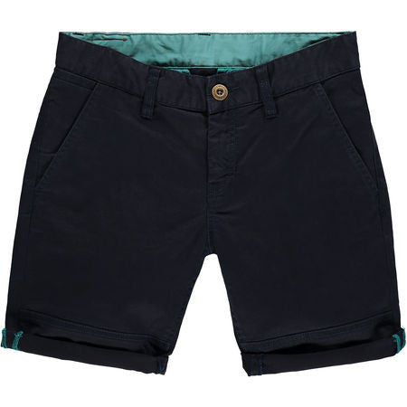Friday Night Chino Short Kids Ink Blue