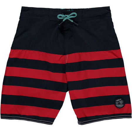 Sailor Jack Boardshort Red