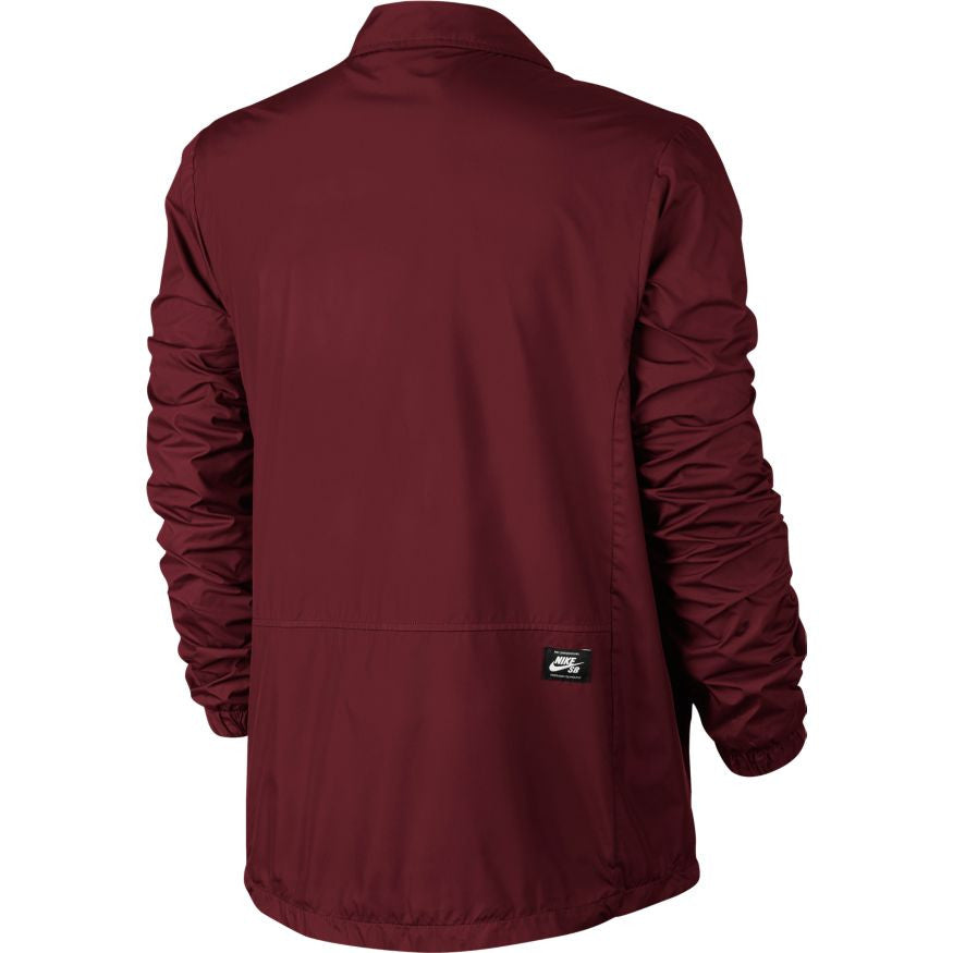 Shield Coaches Jacket Team Red