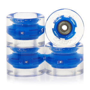 Blue LED Special Longboard 65mm