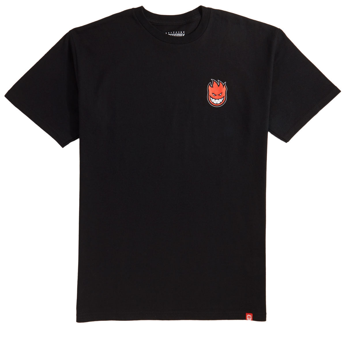 Lil Bighead Fill logo T-shirt Black/Red