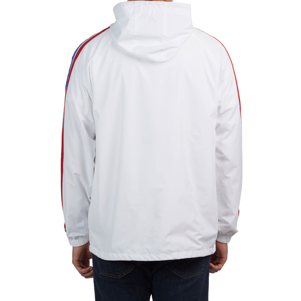Match Anorak White