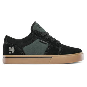 Barge LS Youth Black/ Green/ Gum